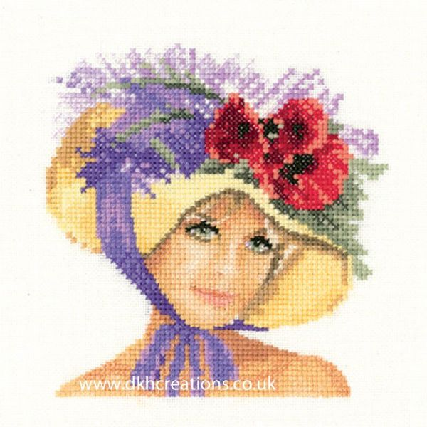 Megan Miniature Evenweave Cross Stitch Kit